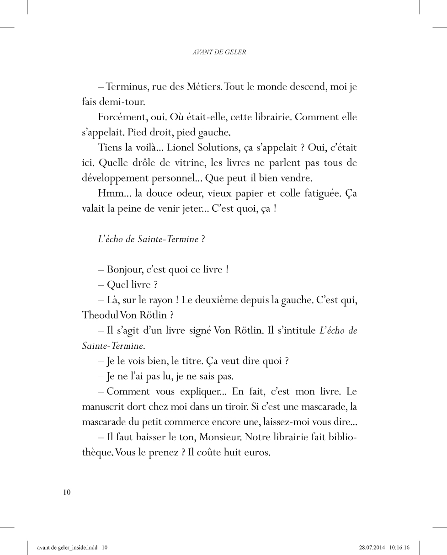 Avant de geler - page 10