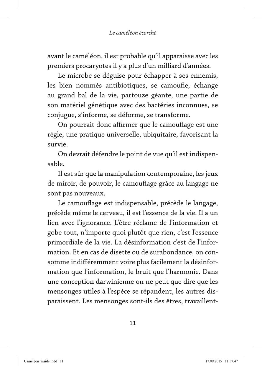 Le caméléon écorché - page 11