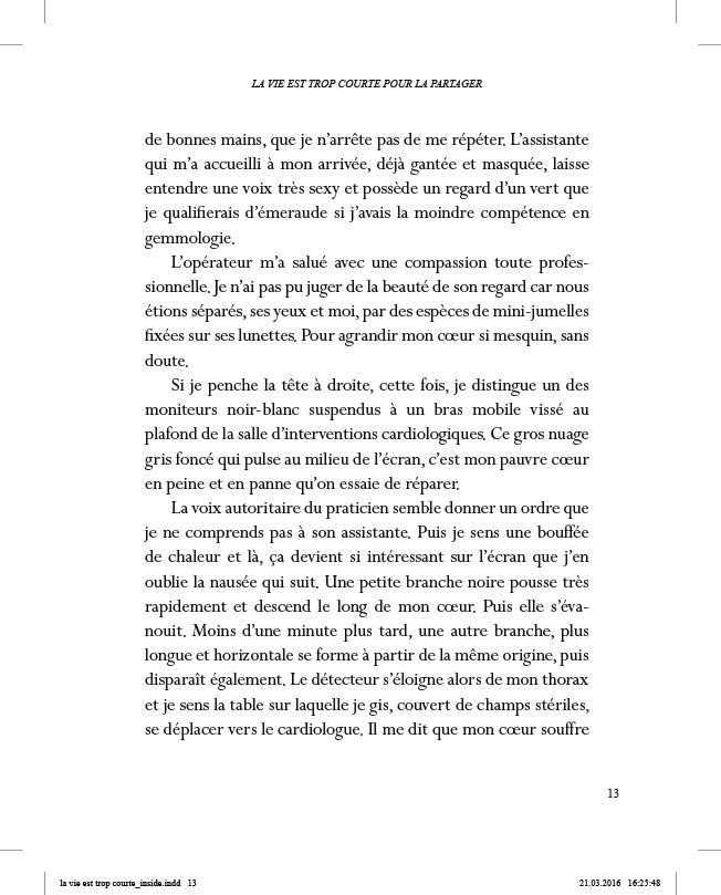 La vie est trop courte pour la partager - page 13