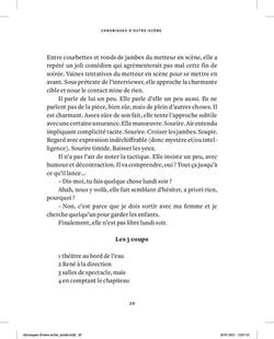 chroniques d'outre-scène - page 20