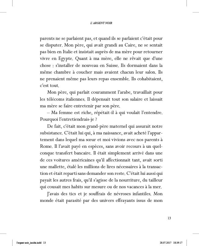 L'Argent noir - page 13