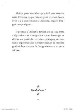 Im-pertinences du son - page 19