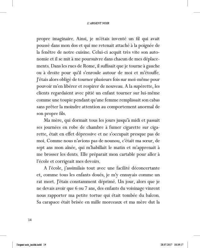 L'Argent noir - page 14