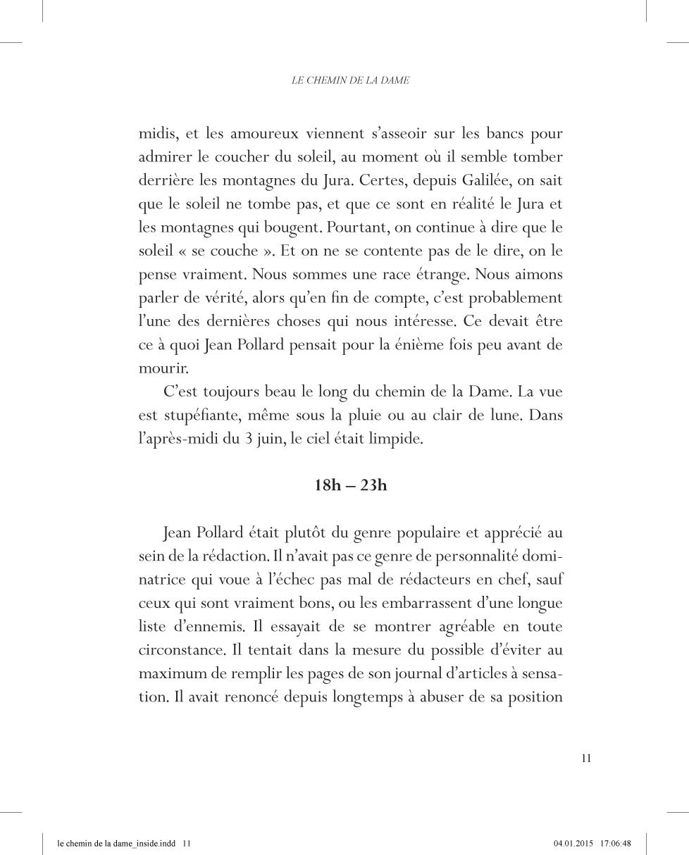 Le chemin de la Dame - page 11