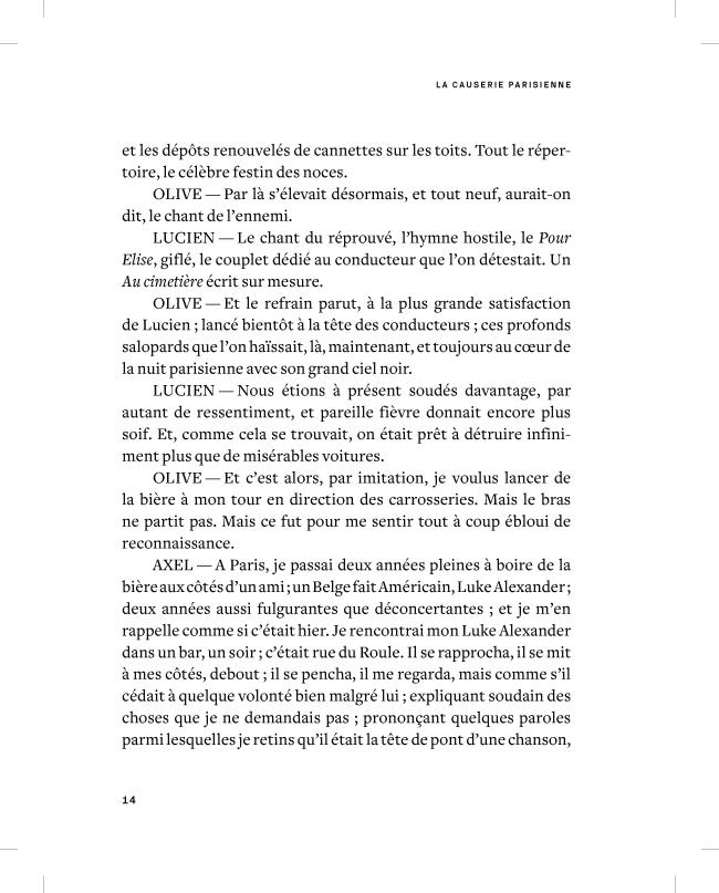 La causerie parisienne - page 14