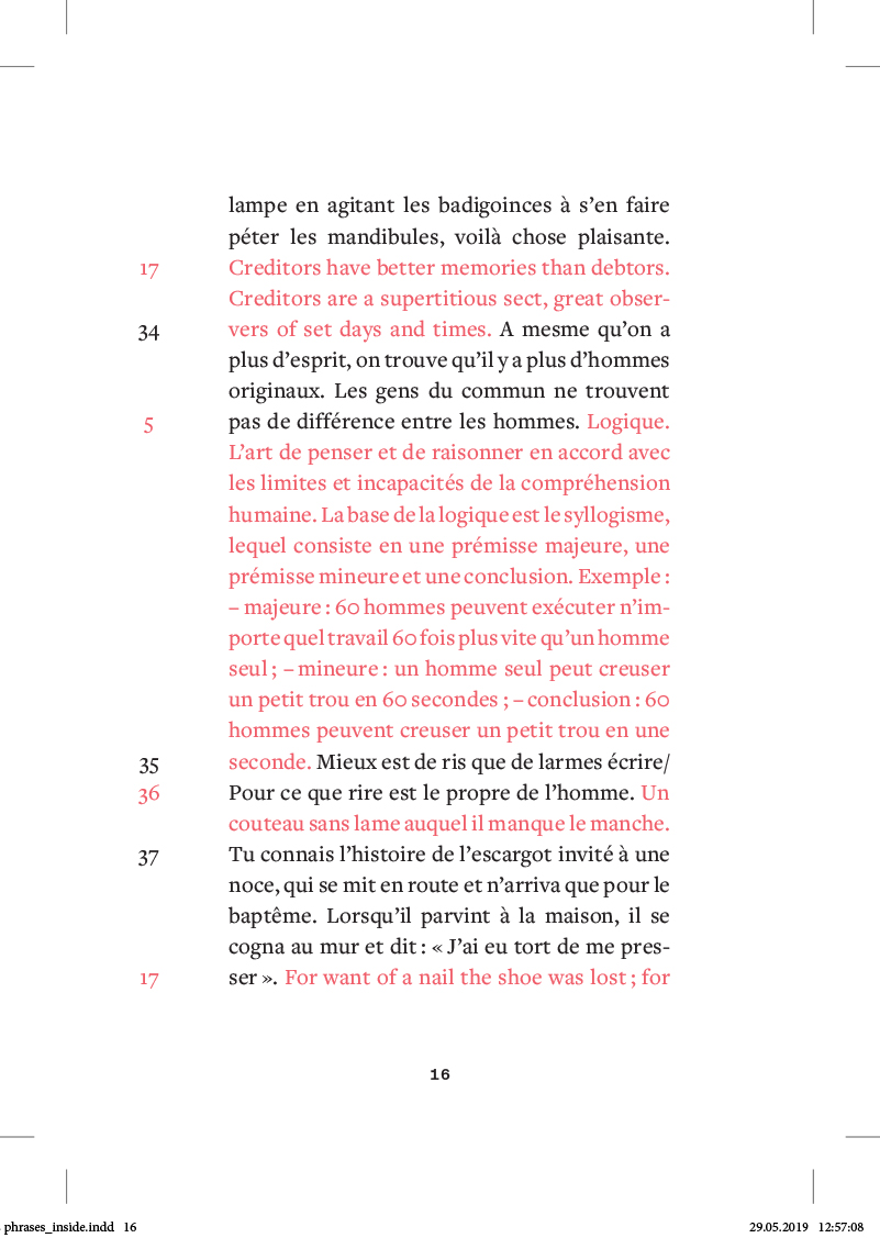 les phrases - page 16