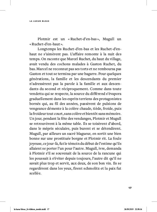 La lueur bleue - page 17