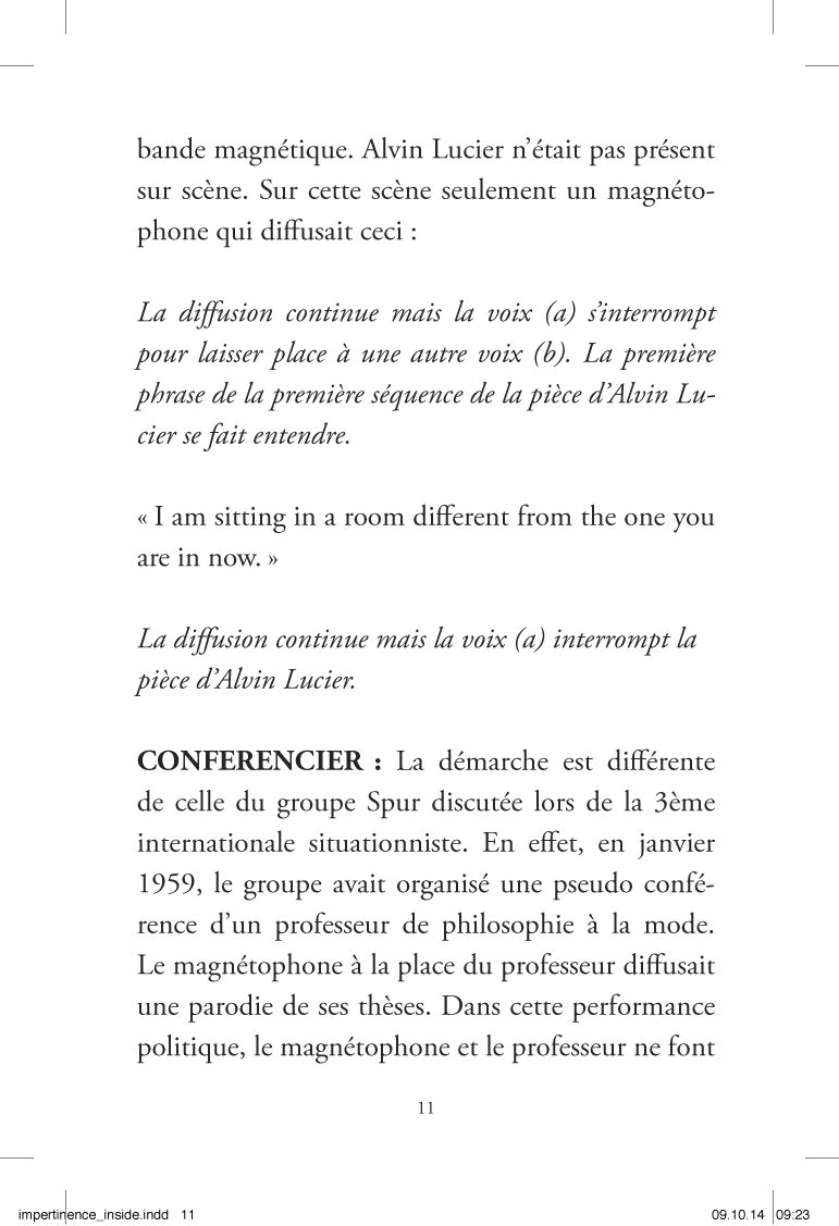 Im-pertinences du son - page 11