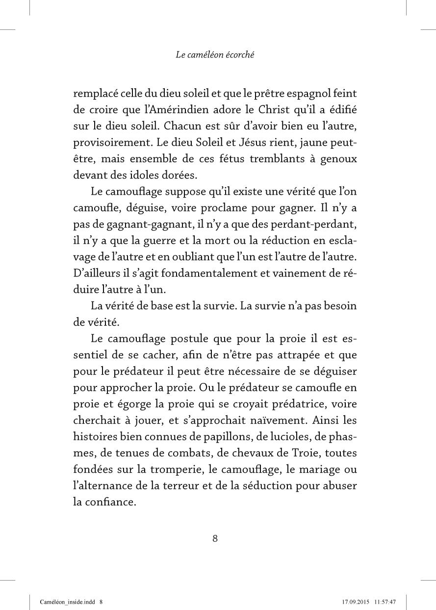 Le caméléon écorché - page 8