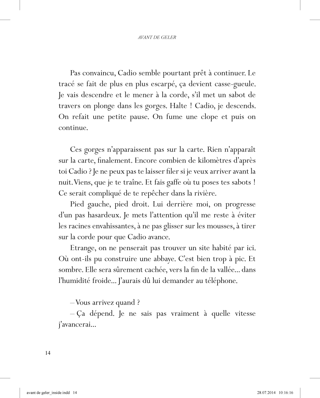 Avant de geler - page 14