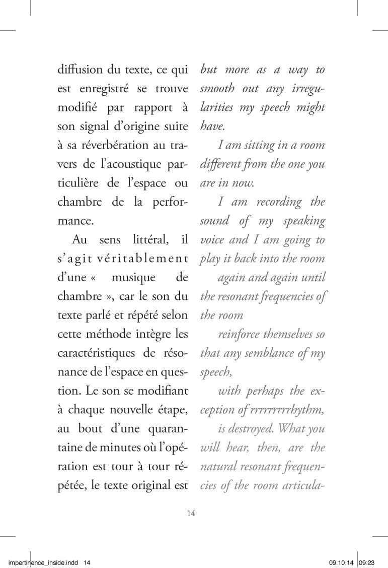 Im-pertinences du son - page 14