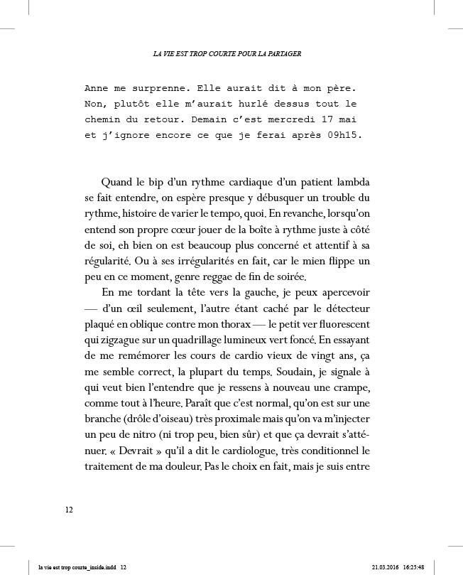 La vie est trop courte pour la partager - page 12