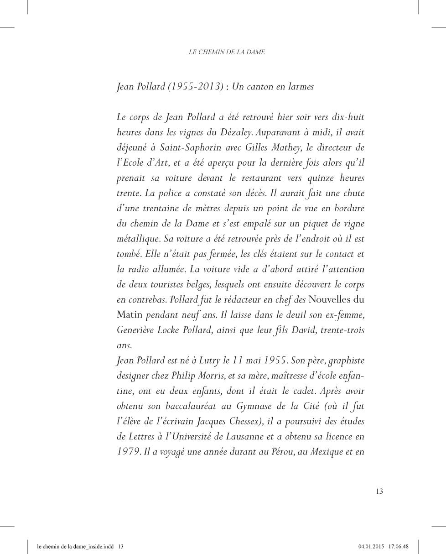 Le chemin de la Dame - page 13