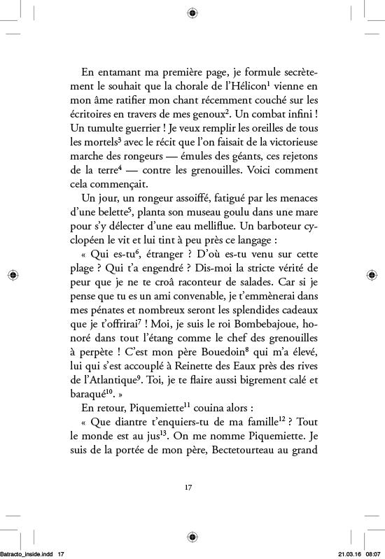 La Batrachomyomachie - page 17