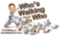 Who's Walking Who Pet Sitting Logo