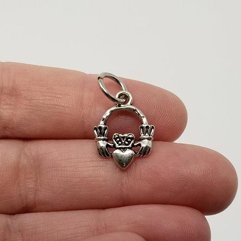 Claddagh Silver Charm