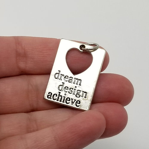 Dream Design Achieve Silver Charm