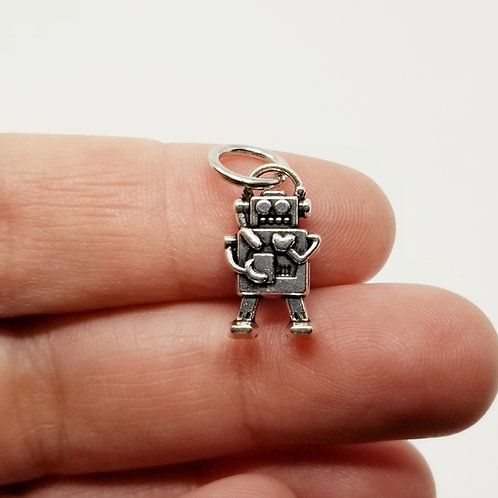 Robot Silver Charm