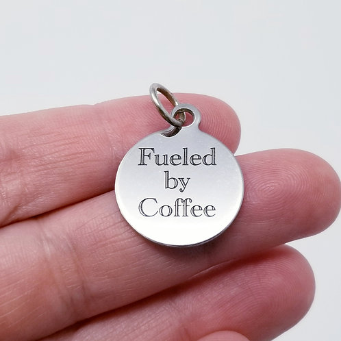 Fueled By Coffee Charm