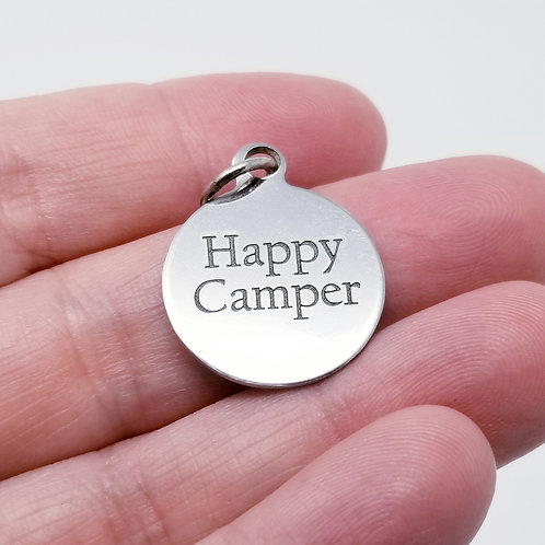 Happy Camper Charm