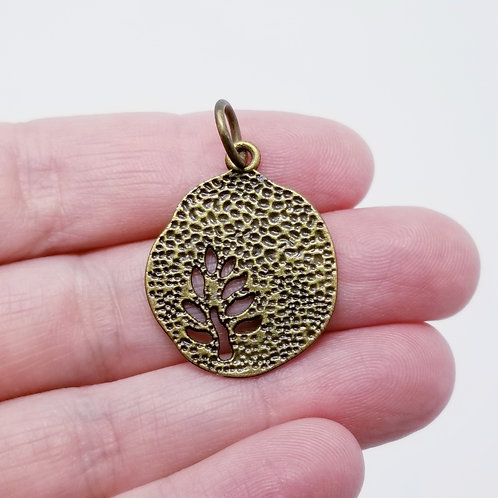 Tree Cut Out Charm