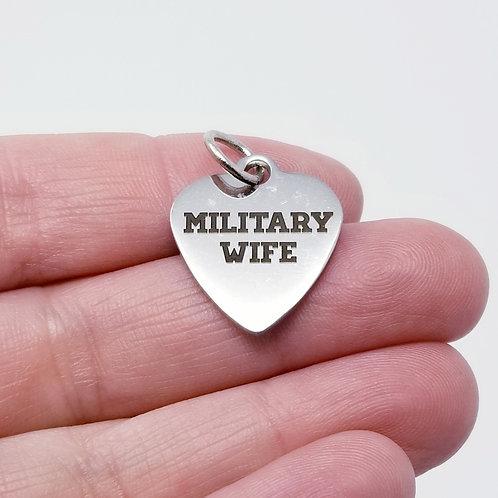 Military Wife Charm