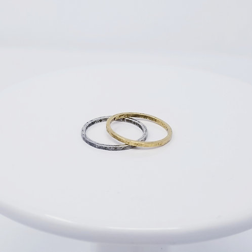 Narrow Stackable Rings