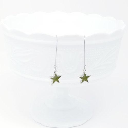 My Star Ice Resin Earrings
