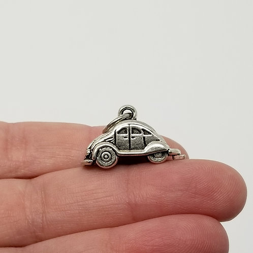 Volkswagen Bug Silver Charm