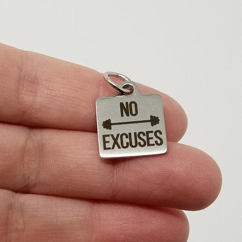 No Excuses Charm
