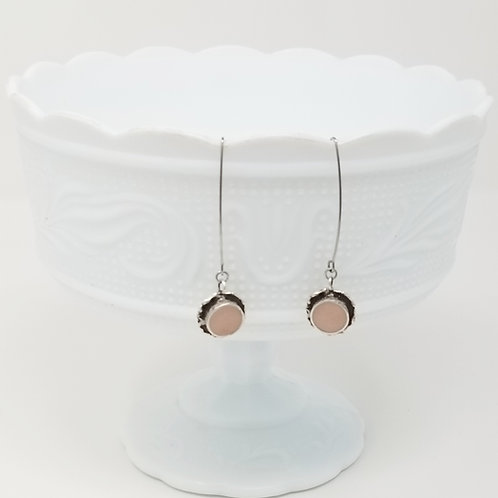 Around the Circle 1 Ice Resin Earrings