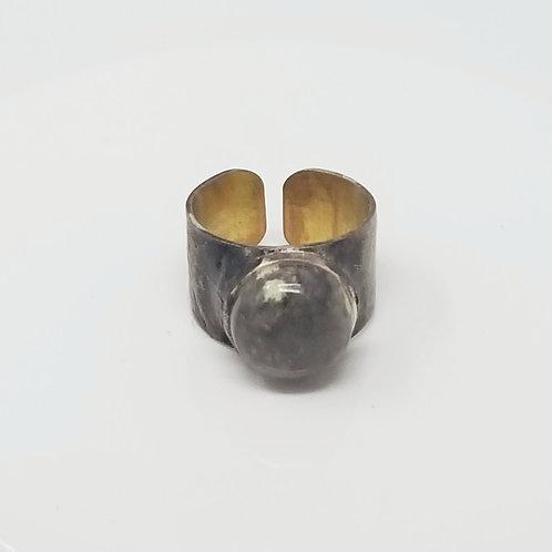 Pryite Soldered Brass Ring 2