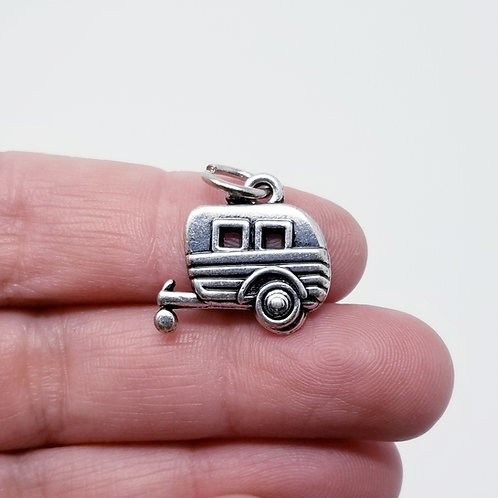 Camper Silver Charm
