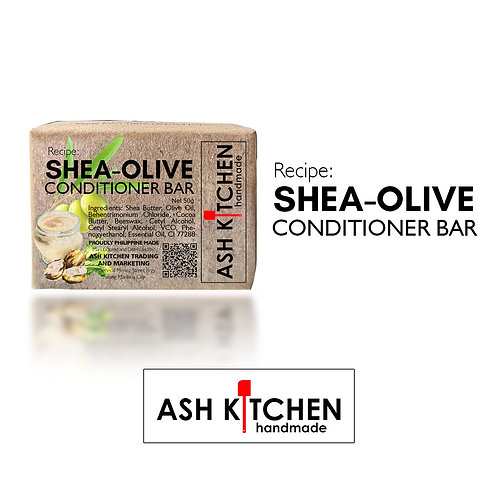 Ash Kitchen Shea-Olive Conditioner Bar