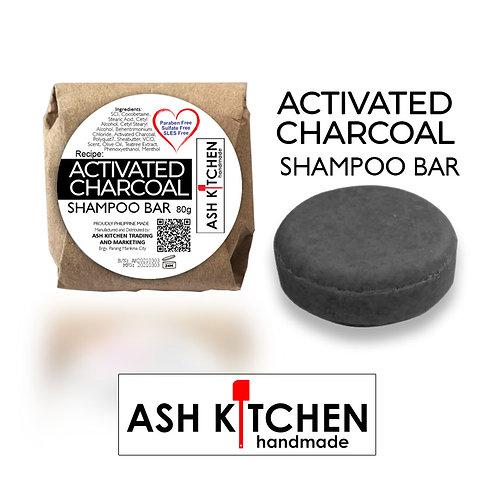 Ash Kitchen Handmade Activated Shampoo Bar