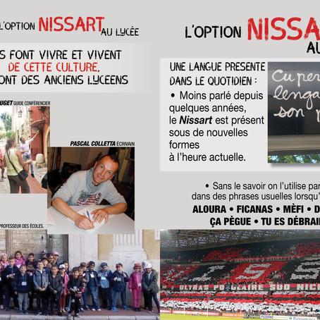 L'oupcioun Nissart en lu licèu L'option Nissart au Lycée