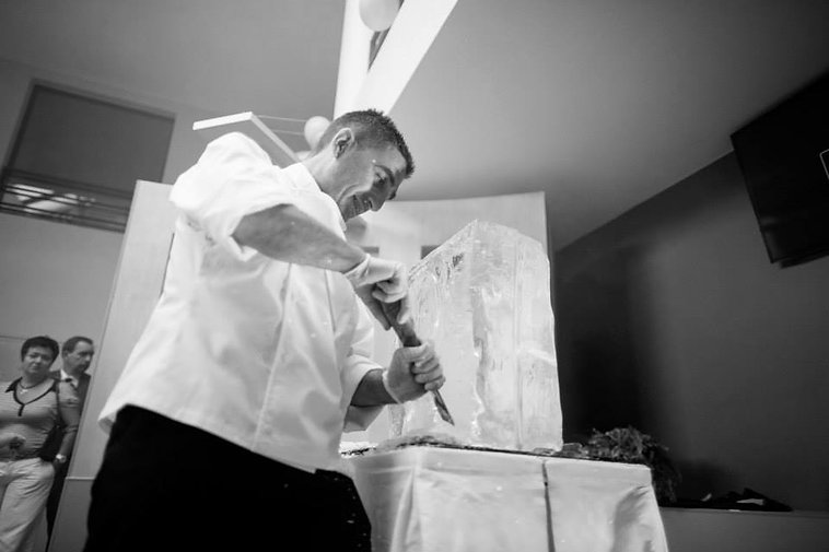 sculpteur sur glace ice spirit haute savoie