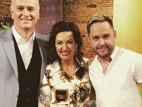 Derek Ryan on RTE's Today Show