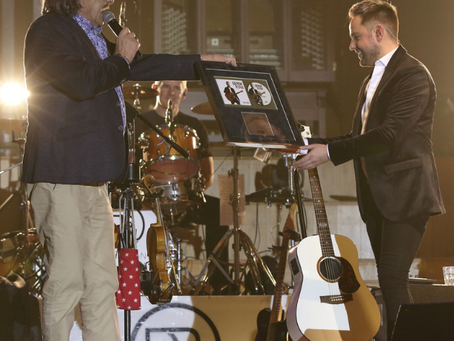 A night to remember for Derek Ryan at the Ulster Hall