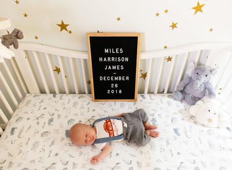 James Family Newborn Session