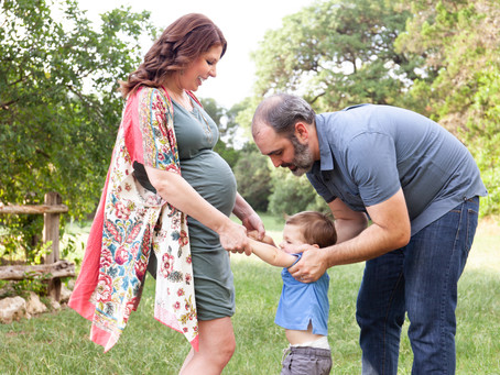 Green Family Maternity Session