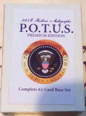 2018 HA P.O.T.U.S.  Complete 63