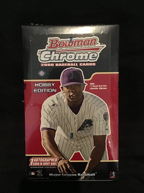 2006 Bowman Chrome Hobby Box