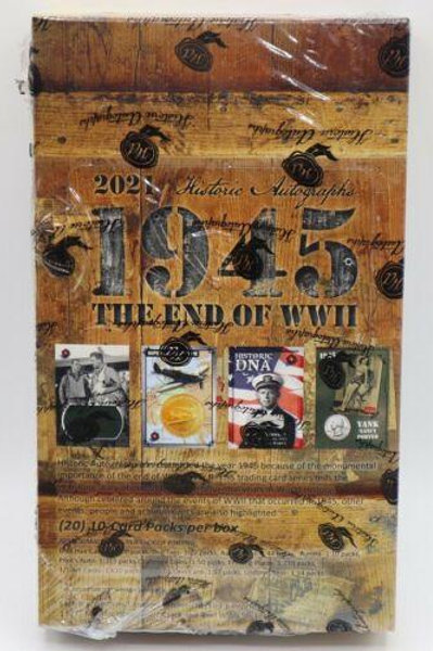 2021 Historic Autographs 1945: End of the War Hobby box