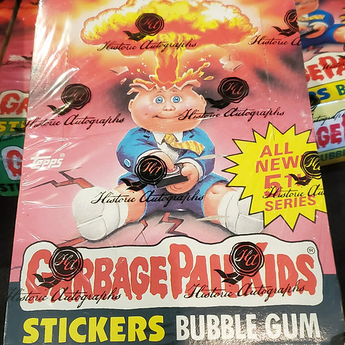 1986 Topps SERIES 5 Garbage Pail Kids 48-pack box (HA wrapped for box integrity)