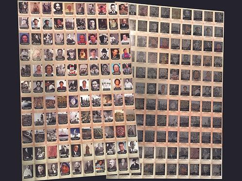 2020 Historic Autographs - CHAOS Un-cut Sheet