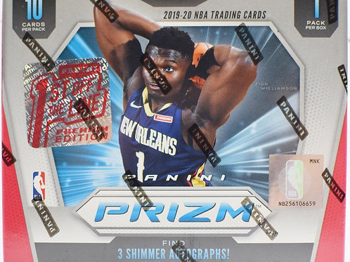 2019-20 Panini Prizm First Off The Line Basketball Box