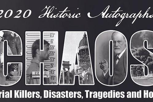 2020 Historic Autographs - CHAOS (20 Box Case)