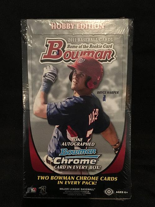 2011 Bowman Hobby Box