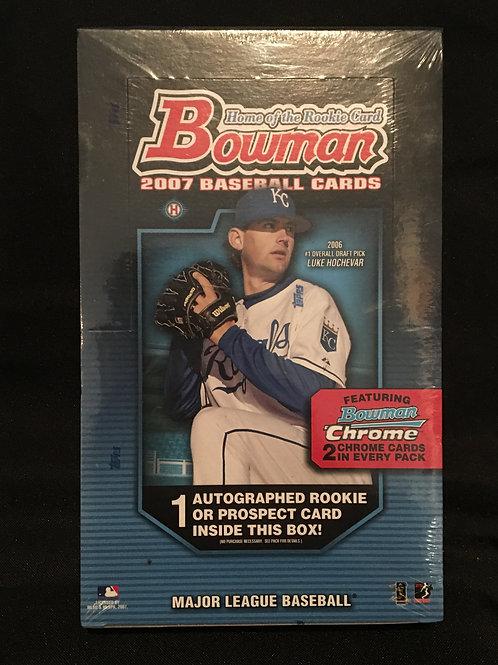 2007 Bowman Hobby Box